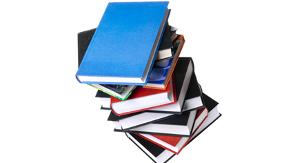 Picture of library Books