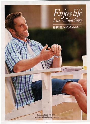 breakaway magazine ad